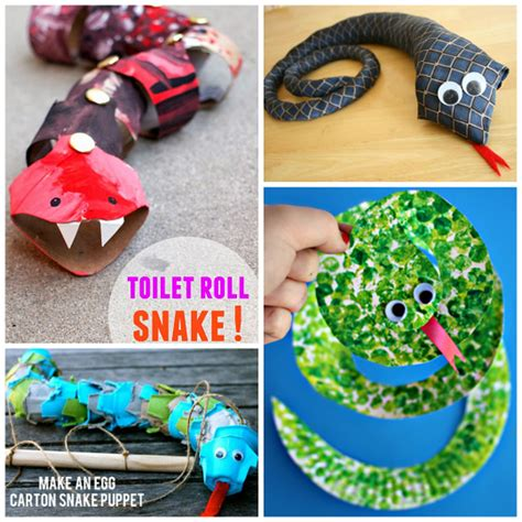 How To Make A Cool Craft Out Of Paper - the coolest snake crafts for to create crafty morning