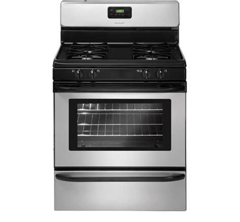 Oven Gas Manual ffgf3015lm frigidaire 30 quot 4 2 cu ft manual clean gas range silver mist wilson s