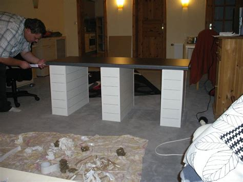arbeitsplatte befestigen ohne unterschrank eigenbau unterkonstruktion 150cm x 60cm x60cm die