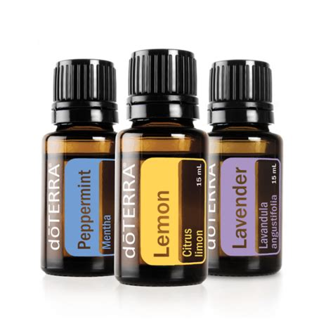 Yleo Lemon 15ml Peppermint 15ml Lavender 15ml mothers day gift ideas compass nutrition wellness