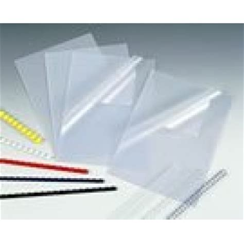 Clear Covers by Binding Clear Pvc Frosted Report Document Covers