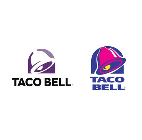 Travo Bell 20 Er taco bell revs logo after 20 years for more customization creatives respond designtaxi