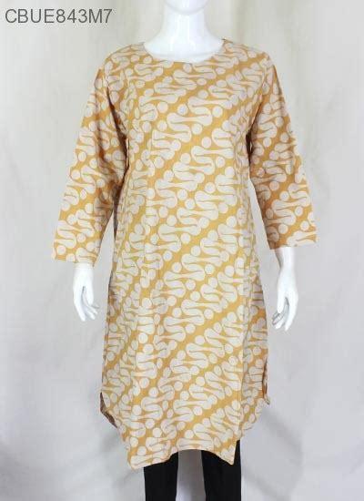Atasan Batik Katun by Atasan Tunik Lawasan Katun Klasik Blus Lengan Panjang