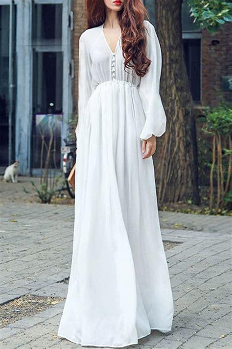 Best 25 Long white maxi dress ideas on Pinterest Long