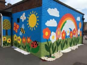 school wall murals new whittington primary school mural junction arts