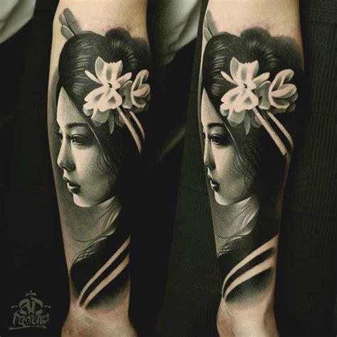 tattoo geisha face 50 amazing geisha tattoos designs and ideas for men and women