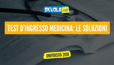 test d ingresso a medicina test ingresso medicina 2017 sospetta vendita di