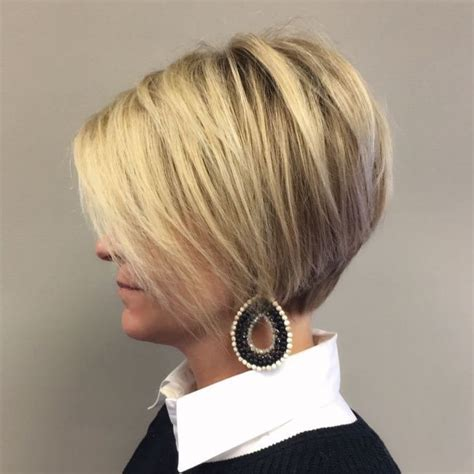 edgy haircuts dallas 13363 best back view assym bobs images on pinterest
