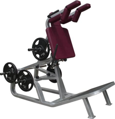 Bench Press Standard Power Hack Squat Combo Maxim Fitness