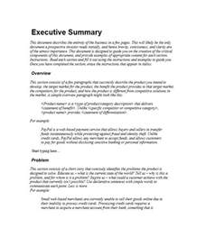 Administrative Outline by 30 Executive Summary Exles Templates Template Lab
