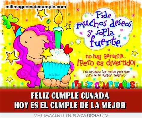 imagenes de happy birthday cunada para compartir feliz cumplea 241 os cu 241 ada cu 241 ado ideas
