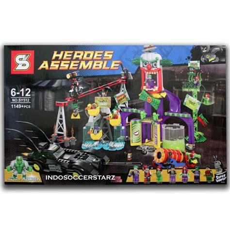 Lego Minifigures Kw Merek Sy mainan lego robin mainan toys