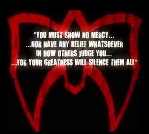 Gerard Show No Mercy no prisoners no mercy quotes