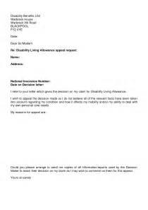 va disability appeal letter sample sample disability