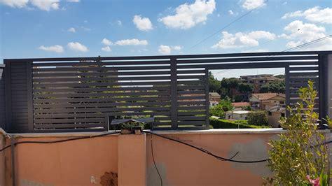 divisori terrazzi divisori terrazzi in alluminio una collezione di idee