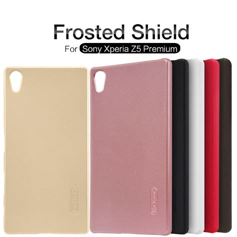 For Sony Xperia Z5 Premium Nillkin Frosted Shield sony xperia z5 premium frosted shield nillkin lamina prophone