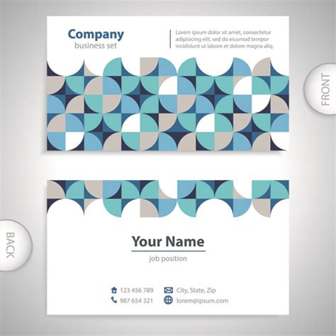 Front And Back Small Card Template by Human Front And Back Outline Free Vector