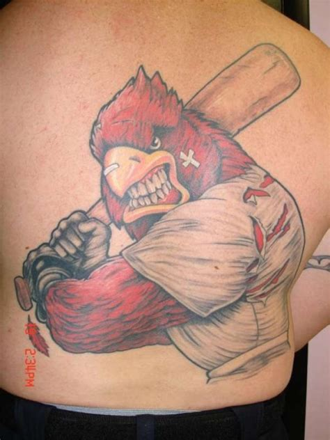 bad ass tattoos cardinal designs