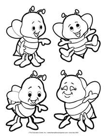 bee color 60 best bee coloring pages images on coloring