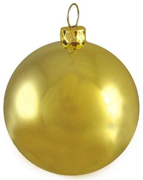 shiny twilight gold commercial shatterproof christmas ball