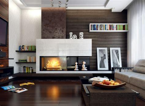 wohnzimmer mit kamin wohnzimmer mit kamin gestalten 43 ideen f 252 r w 228 rme