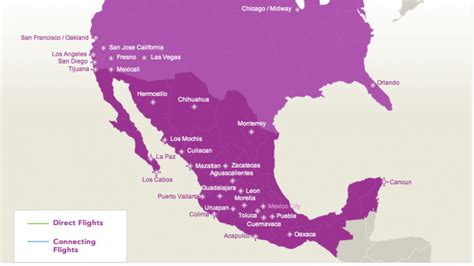 volaris launches two routes to mexico s volaris tweaks transborder flights as it makes a