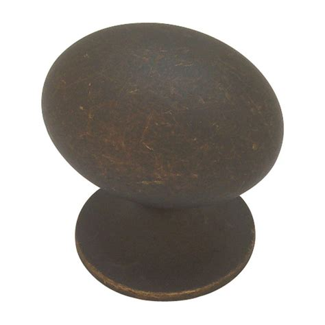 Football Drawer Knobs by Liberty Fusilli 1 3 8 In Distressed Rubbed Bronze