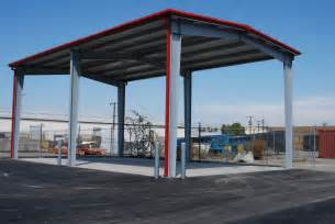 Steel Canopy Design by Custom Steel Structures Pascal Steel Buildings