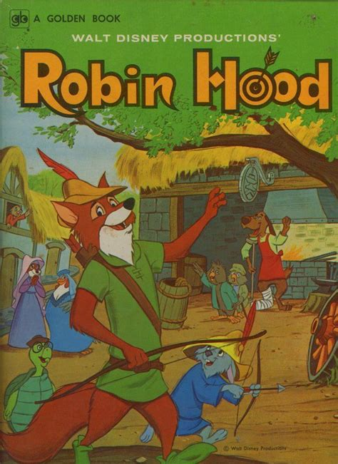 robin picture book walt disney productions robin children s books