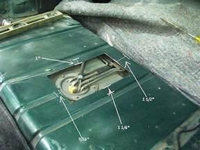 trap door fuel pump access where to cut ls1tech