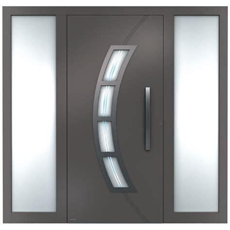 fenster modern aluminium haust 252 ren sedor modern mit seitenteil