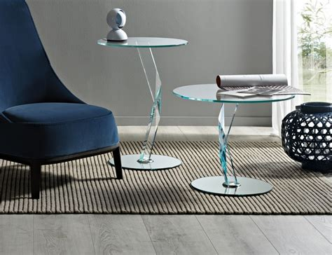 glass side tables for living room with gold painted table