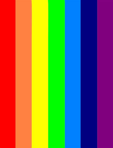 seven colors of the rainbow books file seven colors rainbow vector svg wikimedia commons