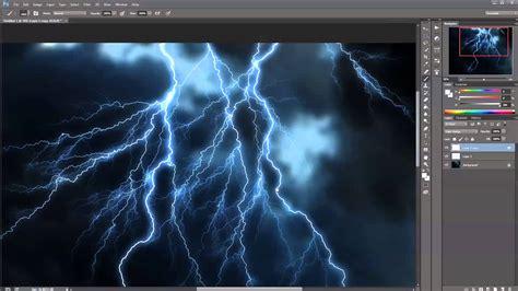 photoshop lighting effects tutorial creating lightning effect in photoshop tutorial
