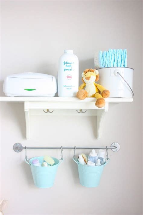 Changing Table Organization Baby Ideas Organization Hanging Changing Table Organizer