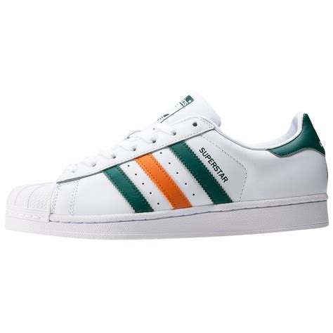 adidas superstar 2 tone stripes womens trainers in white