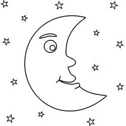 moon coloring pages download print free