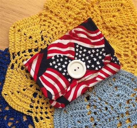 Ebay Gift Card Chargeback - gift card holder credit card wallet business card holder american flag fabric