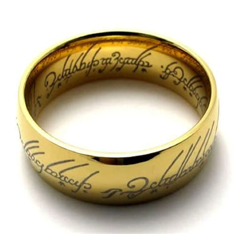 the one ring lord of the rings replica ring size 5