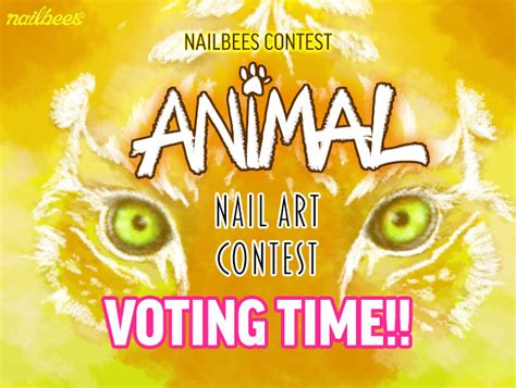 competition 2015 vote animal nail contest 2015 voting nailbees
