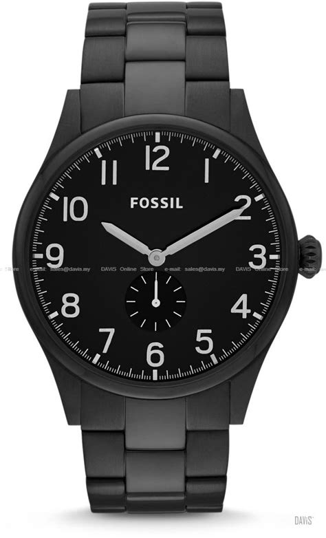 Fossil Second fossil fs4854 s analogue small end 6 22 2017 1 00 00 am