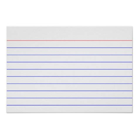 printable index cards index card print zazzle