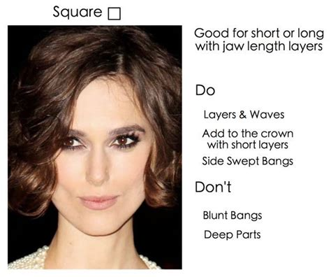 dos and donts for heart face shapes 11 best images about square face shapes on pinterest
