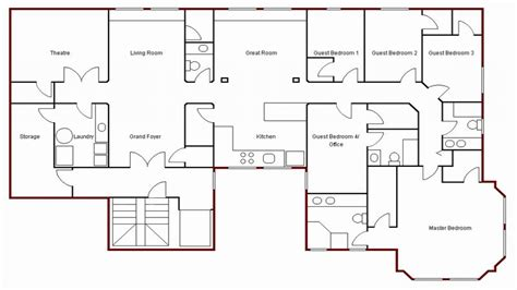 create simple floor plan simple house drawing plan basic