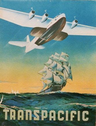 flying boat poster china clippers art deco pinterest the o jays design