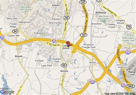 Comfort Inn Durham Chapel Hill Map Of Studio Plus Durham Research Triangle Park Durham