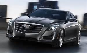 Cadillac Cts Sedan 2015 2015 Cadillac Cts Sedan Gets New Logo And More Tech