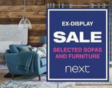 ex display sale at next retail world gateshead