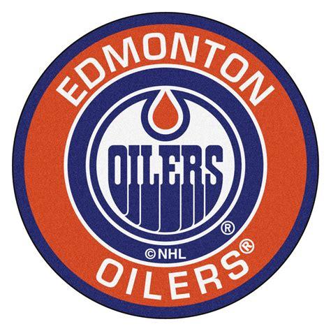 Unique Doormats by Edmonton Oilers Logo Roundel Mat 27 Quot