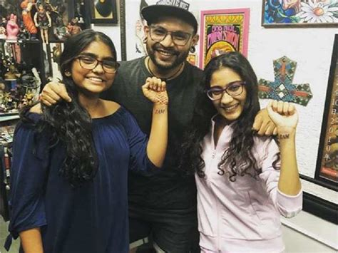 sushmita sen tattoo images photo sushmita sen s daughters renee and aaliyah get inked